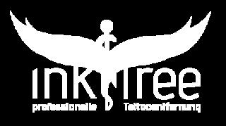 ink free Logo neu weiß